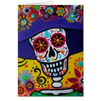 Dia de los Muertos Catrina Tarjeta De Felicitación