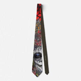 Día de los muertos corbata