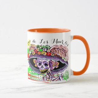 Dia de Los Muertos Day de la taza muerta de