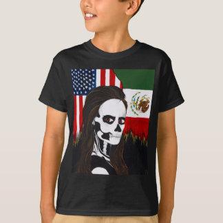 """""""dia de los muertos"""" """"dia de los muertos """" camiseta"""