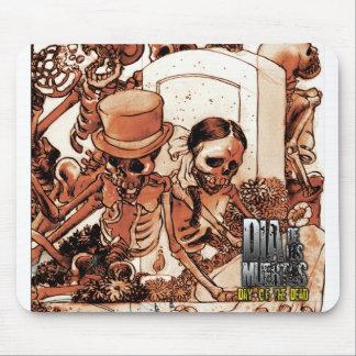 Dia De Los Muertos - día del Mousepad muerto Tapete De Ratones