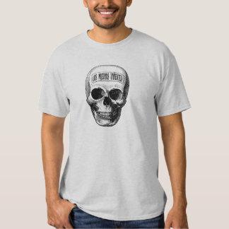 Día de los muertos - la vida muerta camisetas
