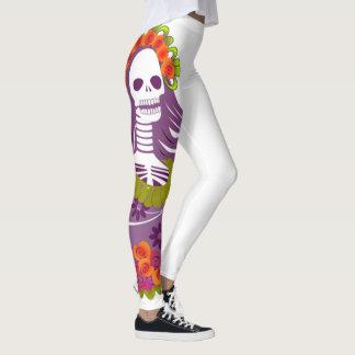 Día de los muertos leggings