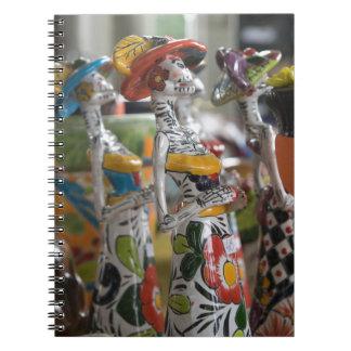 Dia De Los Muertos Libro De Apuntes Con Espiral