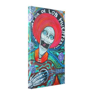 Dia De Los Muertos Lona Estirada Galerías