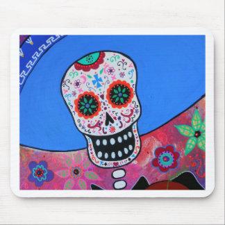 Dia de los Muertos Mariachi Alfombrilla De Raton