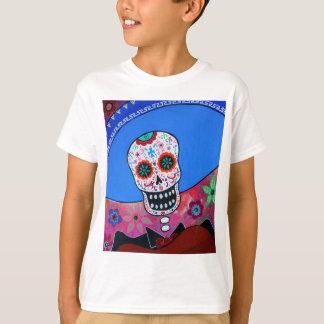 Dia de los Muertos Mariachi Camiseta