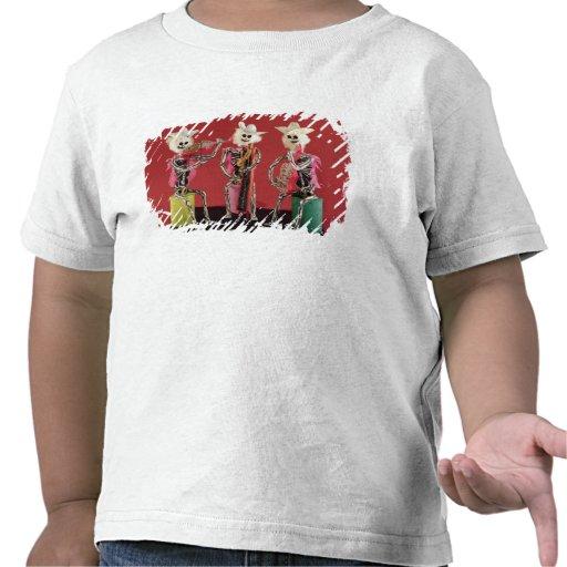 Día de los muertos: Mariachi, de Oaxaca Camiseta
