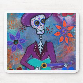 Dia de los Muertos Musico Alfombrilla De Ratón