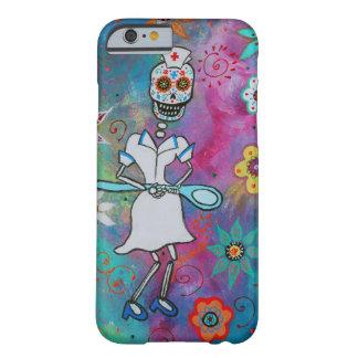 DIA DE LOS MUERTOS NURSE FUNDA PARA iPhone 6 BARELY THERE