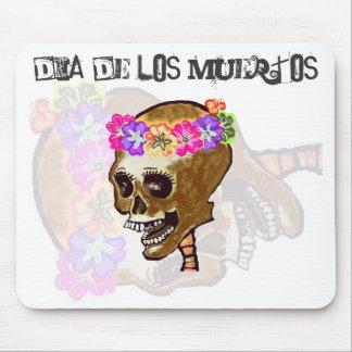 Dia de los Muertos para el escritorio del ordenado Alfombrilla De Ratón