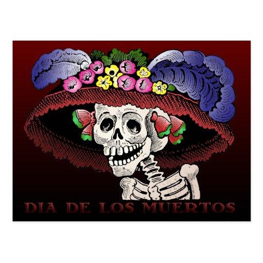 Dia de los Muertos [postal]