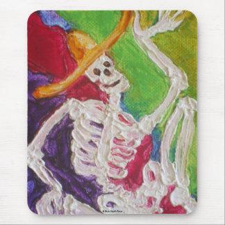 Dia De Los Muertos Skeleton Alfombrilla De Ratón