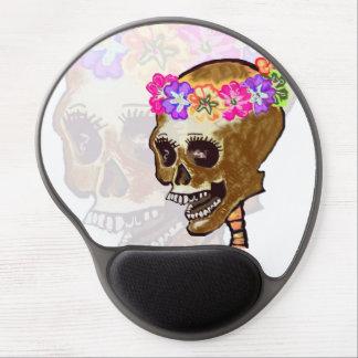 Dia de los Muertos Skull Alfombrillas Con Gel
