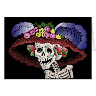 Dia de los Muertos [tarjeta] Tarjeta De Felicitación