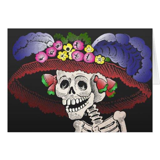 Dia de los Muertos [tarjeta]