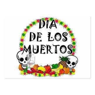 Dia De Los Muertos Tarjetas De Visita Grandes