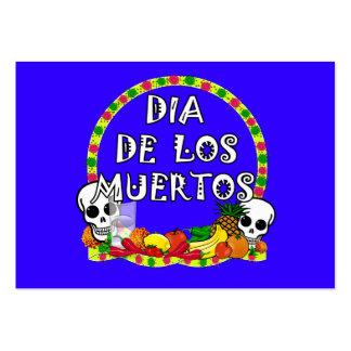 Dia De Los Muertos Plantillas De Tarjetas Personales