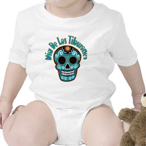 Dia De Los Tiburones.png Traje De Bebé