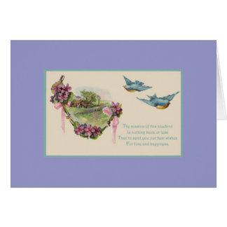día de madres feliz tarjeta de felicitación