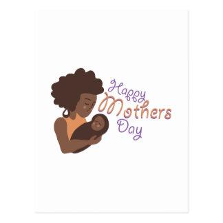 Día de madres feliz postal