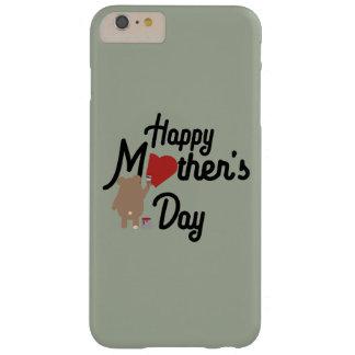 Día de madres feliz Zg6w3 Funda Barely There iPhone 6 Plus