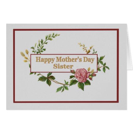 Madres Hermana Día de Madres Para la Hermana
