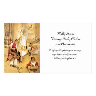 Día de navidad tarjetas de visita