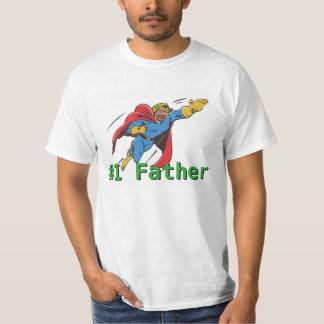 Día de padres estupendo del papá camiseta