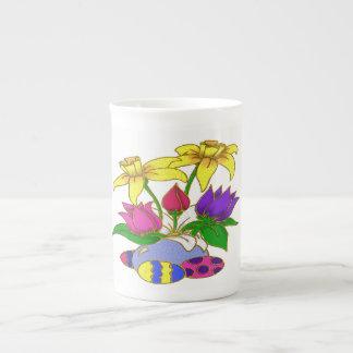 Día de Pascua Taza De Porcelana