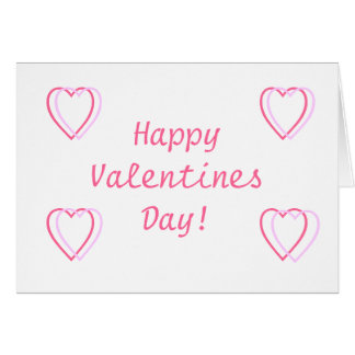 ¡Día de San Valentín feliz! Tarjeton