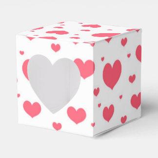 Día de San Valentín inconsútil lindo del modelo Caja De Regalos
