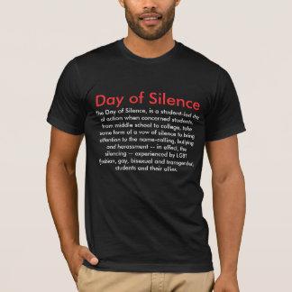 Día de silencio camiseta