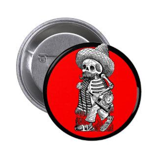 Día del adorno muerto 5 chapa redonda de 5 cm