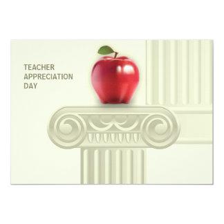 Día del aprecio del profesor. Tarjetas adaptables Invitación Personalizada