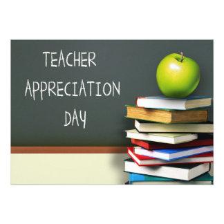 Día del aprecio del profesor. Tarjetas adaptables Anuncios Personalizados