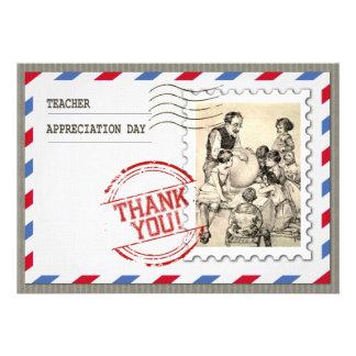 Día del aprecio del profesor Tarjetas adaptables