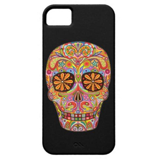 Día del arte muerto iPhone 5 carcasa