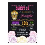 Día del dulce 16 de la invitación muerta del