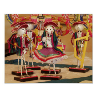 Día del fandango de los bailarines muertos póster