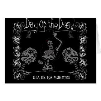 Día del muerto/del Dia de los Muertos Tarjeta De Felicitación