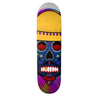 Dia Del Muerto Skateboard Patineta Personalizada