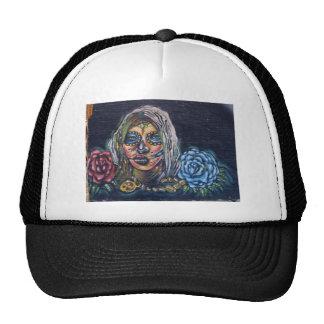 Día del mural muerto gorras