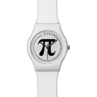 Día del pi (π) relojes de pulsera