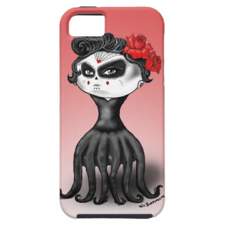 Día del pulpo muerto iPhone 5 Case-Mate protector