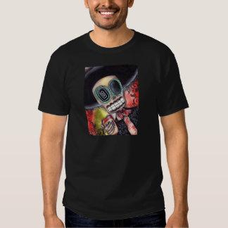 Día esquelético del Mariachi de la camisa muerta