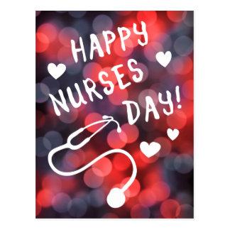 día feliz de las enfermeras postal