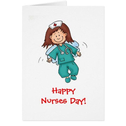 Día feliz de las enfermeras - felicitaciones
