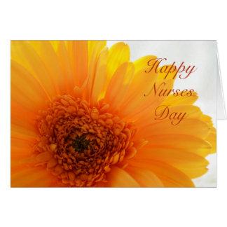 Día feliz de las enfermeras felicitación