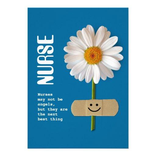Día feliz de las enfermeras. Tarjetas de felicitac Invitaciones Personales